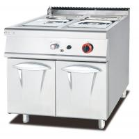 Hot Food Display Gas Bain Marie With Cabinet Western Professional Kitchen Equipment Manufactures