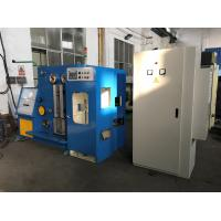 Fine Copper Wire Drawing Machine With Annealing Machine And Air Conditioning ,  Welded By Steel Plate Manufactures
