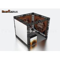 10x10 Truss Trade Show Booth / Easy Set Up Portable Exhibition Booth Manufactures