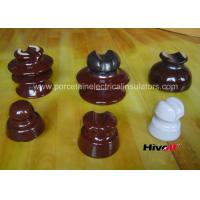 11kV And Below Porcelain Pin Type Insulators With Porcelain Thread Manufactures