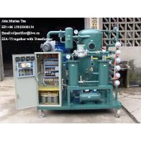 ZJA Double-Stage Vacuum Transformer Oil Purification &Insulation Oil Treatment Equipment Manufactures