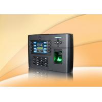 3.5 inch TFT screen Fingerprint Access Control System terminal support WIFI or GPRS for option Manufactures
