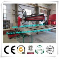 Corrugated Box Beam Production Line Dump Truck Panel , H Beam Welding Line Manufactures