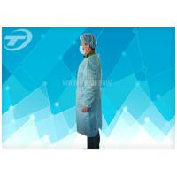 18-40G / M2 Disposable Medical Gowns Nonwoven With Knitted Cuff Manufactures