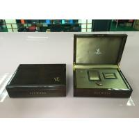 Buy cheap Wooden Watch , Necklace Jewelry Box With Brocade Sillk Cotton Interior from wholesalers