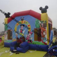 castle inflatable inflatable castle mickey mouse inflable castle Manufactures