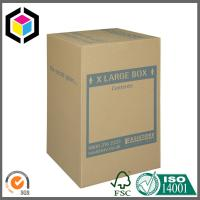 Quality Extra Large Size Custom Color Logo Print Double Wall Carton Packaging Box for sale