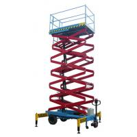 7.5 Meters Light Duty Hydraulic Mobile Scissor Lift with Motorized Device Manufactures