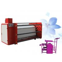 China Sublimation Printing Heat Transfer Machine Roller Style 1m Width Rotary Calander on sale