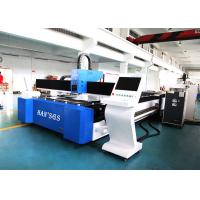 Offer CNC Metal Tube / Plate Carbon Steel 1kw Fiber Laser Cutting Machine with CE Manufactures