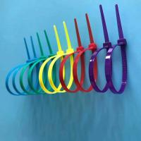 Free Sample Available Nylon Cable Ties Easy Use Self-locking Type In Different Colors Manufactures