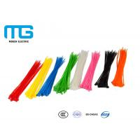 High quality Self-Locking Nylon Cable Ties With CE, UL Certification Manufactures