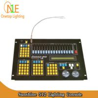 Sunshine 512 Lighting Console Sunny 512 dmx Controller led light controller sunshine Manufactures