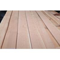 Pink Quarter Cut Cherry Veneer With Mineral Line , 0.5 mm Thickness Manufactures