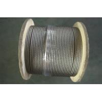 3 16 Aircraft Stainless Wire Rope for automobile industry , Vinyl Coated Wire Rope Cable Manufactures
