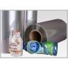 CE Durable Bottle Label Shrinkable Plastic Film , Shrink Wrap Plastic Film Manufactures