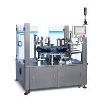 High performance high efficient vertical type semi automatic cartoning machine for blister tube sachet and bottle Manufactures
