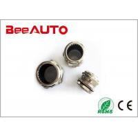 Durable Metal Metric Cable Glands , Nickel Plated Small Cable Gland UV Resistant Manufactures