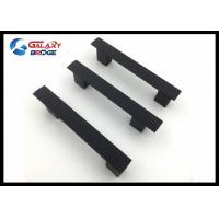 Assembly Aluminum T-Bar Kitchen Cupboard Handles 224mm Black Oven Door Pulls Customized size Furniture Fittings Manufactures
