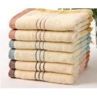 Quick Dry Antibacterial Bamboo Fiber Towels , Soft Touch Hotel Collection Towels Manufactures