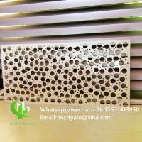 Interior Exterior    Round Hole Perforated Sheet  Garden Coutry Yard Decoration Manufactures