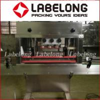 PLC Control Linear Filling Machine , Bottle Seal Packing Machine For Chemical Liquid Manufactures