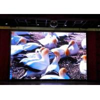 P4 / P5 / P6 Indoor Led Display Signs With 5500k - 8000k Color Temp , 2000Hz+ Refresh Rate Manufactures