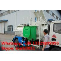 Quality 2017s hot sale Dongfeng 3,000L kitchen garbage truck, factory sale best price dongfeng swill garbage truck for sale for sale