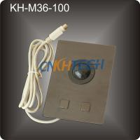 Metal marine console trackball Manufactures