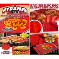 PYRAMID PAN Non Stick Silicone Baking Oven liner Tray sheet Manufactures