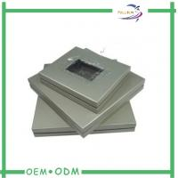 China Metallic Color PET Window Gift Boxes Roll Embossing Texture OEM / ODM on sale