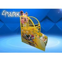 Attractive Cartoon Kids Arcade Basketball Game Machine 12 Months Warranty Manufactures