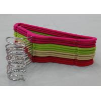 Save Space Bulk Childrens Clothes Hangers Kids Velvet Hangers Multi Colored Manufactures