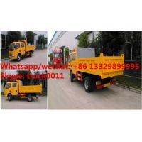 Quality HOT SALE! Dongfeng 4*2 double cabs light duty 3tons dump tipper truck, Factory for sale