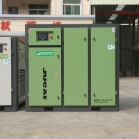 75kw 100hp Variable Frequency Screw Type Air Compressor JYF100 Manufactures