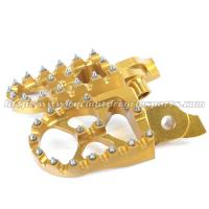 Gold 7075 Aluminium MX Foot Pegs Foot Rests RMZ 250 450 RMZ250 RMZ450 Manufactures