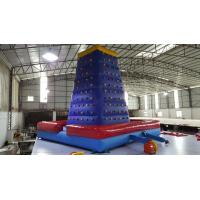 Pvc Tarpaulin / Oxford Simulated Rock Climbing Oxford Inflatable Sport Game Manufactures