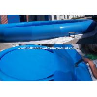 Round Tarpaulin Inflatable Water Pool With CE , Small Inflatable Baby Pool Manufactures