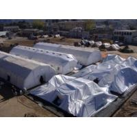 Festival Blue Sealed Giant Inflatable Event Tent Rentals , WaterProof Manufactures
