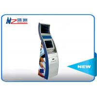 Stand alone sleek cabinet modern card dispenser kiosk in shopping mall Manufactures