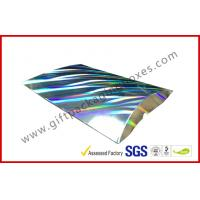 Laser Silver Card board Packaging A4 B5 Document Card Board Packaging