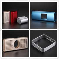 Professional manufacturer for extruded oval aluminum profile enclosures with brushed sandblasting anodizing for electronics