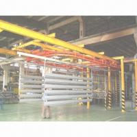 China Power and Free Conveyor Powder Coating Line for Aluminum Profiles on sale