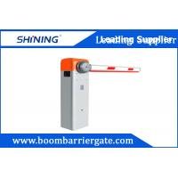 Adjusted Speed Automatic Boom Barrier , Electronic Security Boom Barrier IP44 Manufactures
