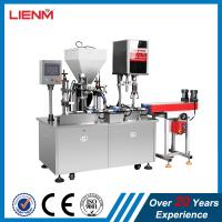25ml, 50ml, 100ml Automatic Lotion Cream Filling Capping Machine Manufactures
