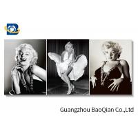Marilyn Monroe Movie Star Poster For Home Wall Decoration , 3d Flipped Picture Manufactures
