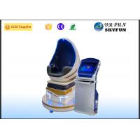 Coin Operated Single Seat 9D Virtual Reality Cinema With Shooting Games Manufactures