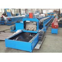 China Thrie Beam Highway Guardrail Roll Forming Machine With Servo Flying Cutoff on sale