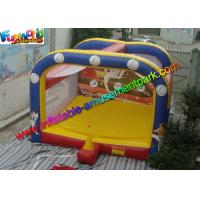 China PLATO 0.55 PVC Interactive Inflatable Sport Games Inflatable Baseball Field Outdoor on sale