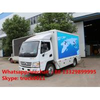 HOT SALE! 2017 new mobile LED billboard advertising truck, best price KARRY Brand 4*2 LHD outdoor LED advertising truck Manufactures